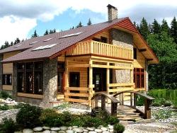 Альпийский поселок
